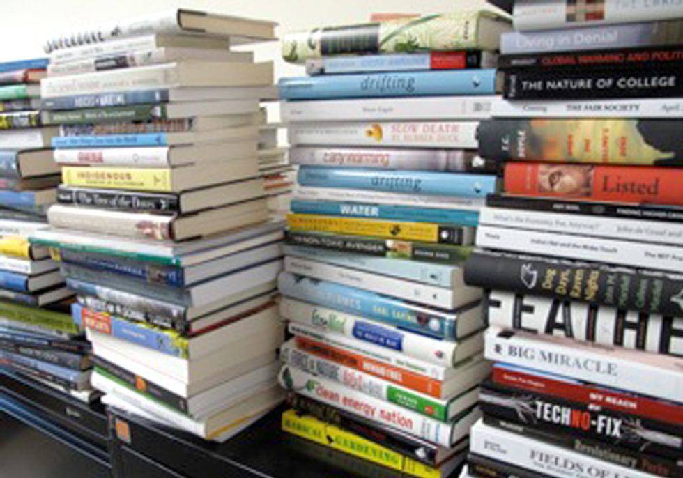 Good Reads—2012 Orion Book Award Finalists Announced