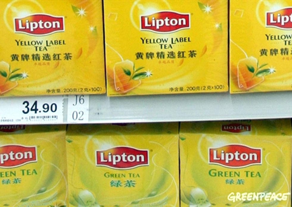 Investigation Finds Toxic Pesticides in Lipton Tea
