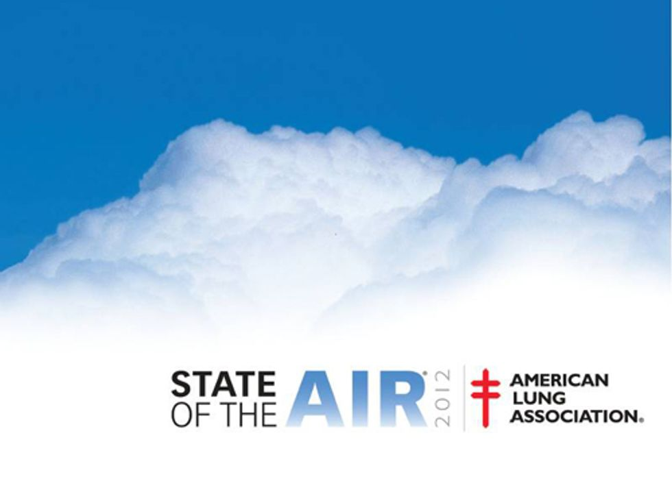 American Lung Association Releases 'State of the Air' Report: What's Your City's Grade?