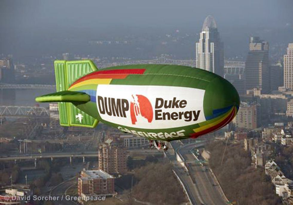 Cincinnati Dumps Duke Energy