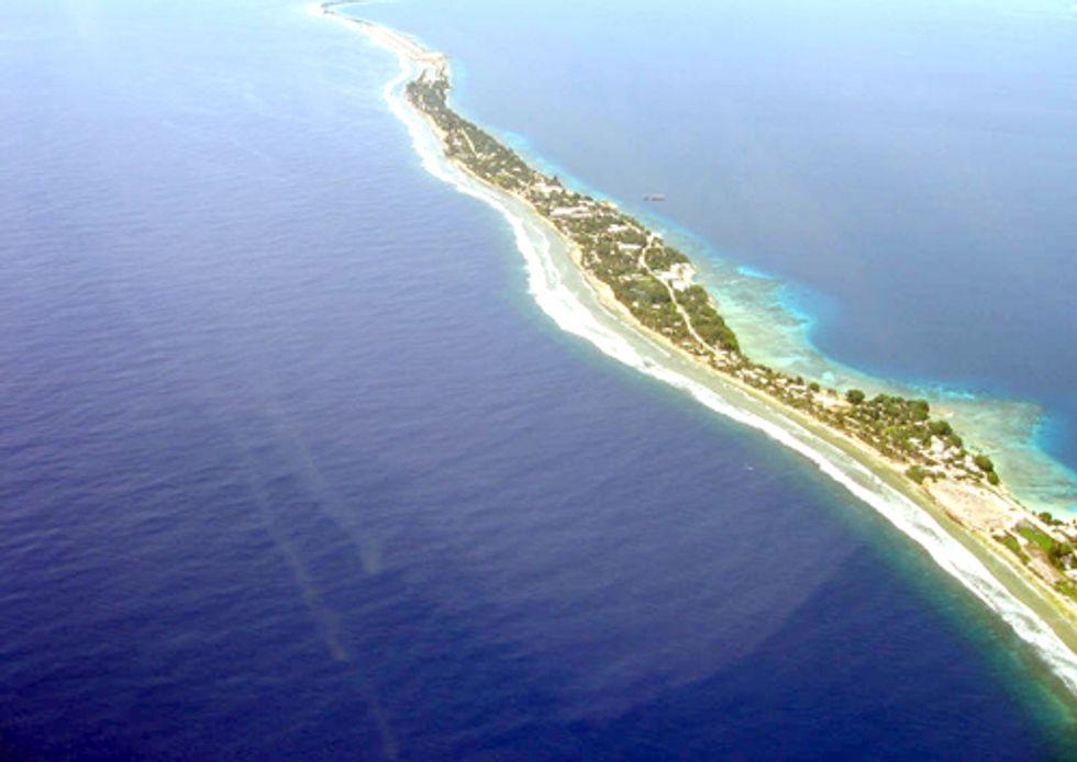 The First Dots on May 5—Majuro Atoll, Marshall Islands