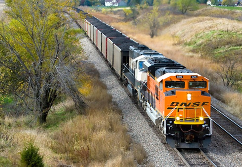 B.C. Protest on May 5 to Stop Warren Buffett's BNSF Coal Trains