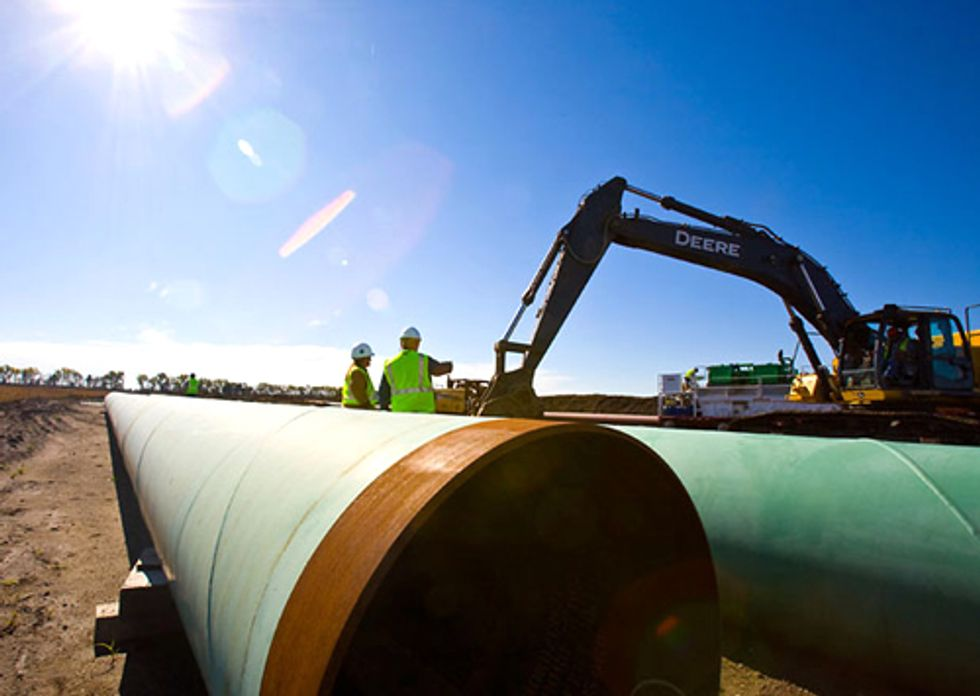 TransCanada Moves to Steamroll Application for Keystone XL Pipeline