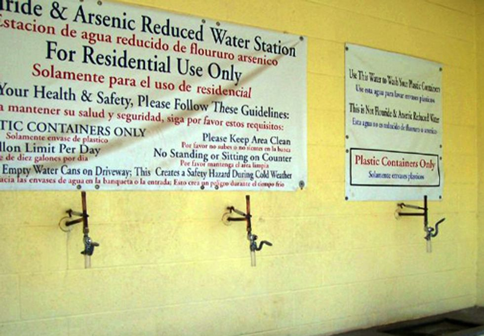 Human Right to Water under Siege in Five U.S. Hot Spots