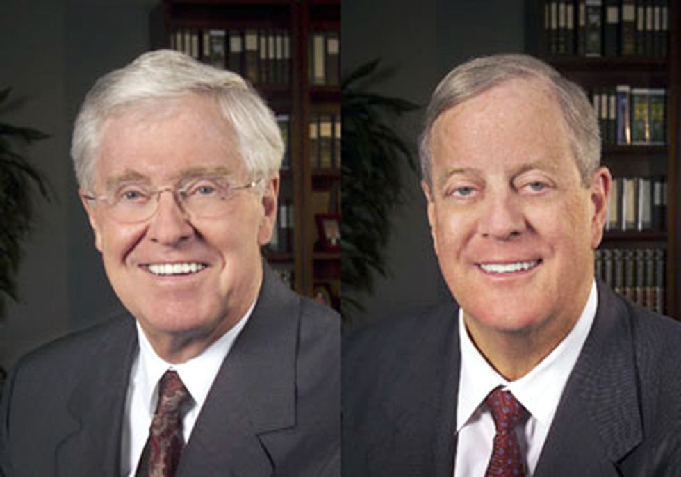 Koch-ing the Climate