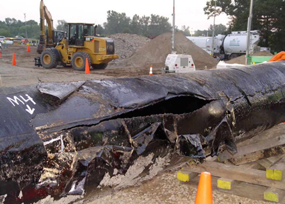 Tar Sands Industry Remains Exempt from Spill Liability Fund