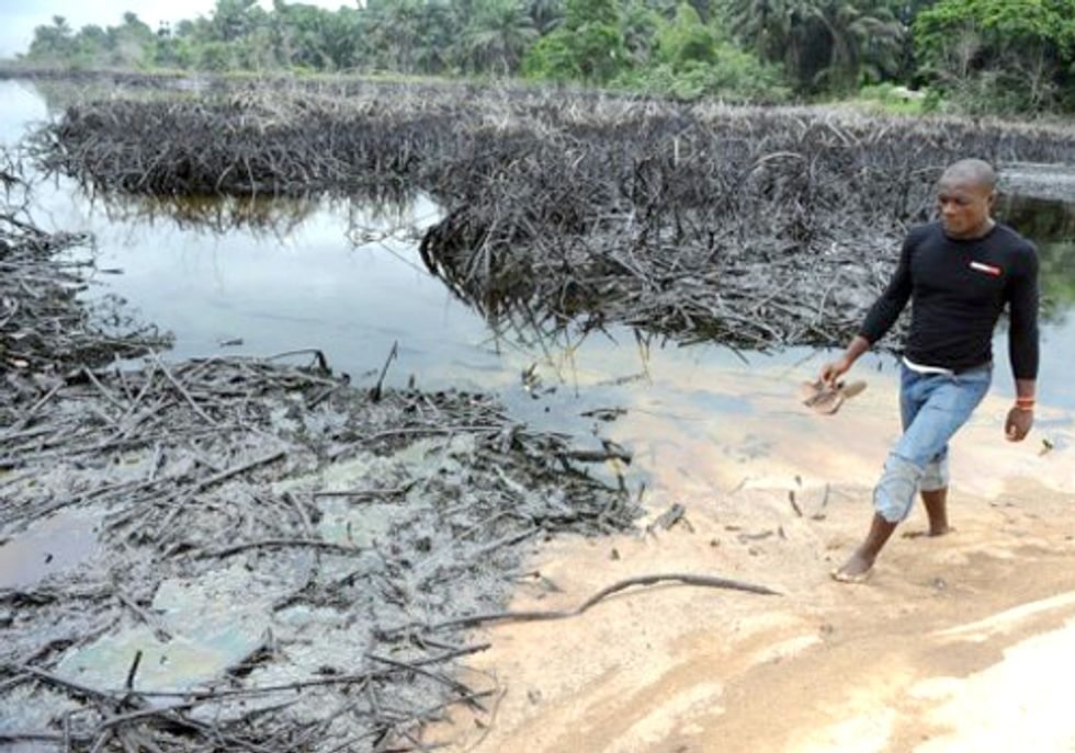 Seventy-Thousand People Ask Shell to Clean up Its Mess in Nigeria