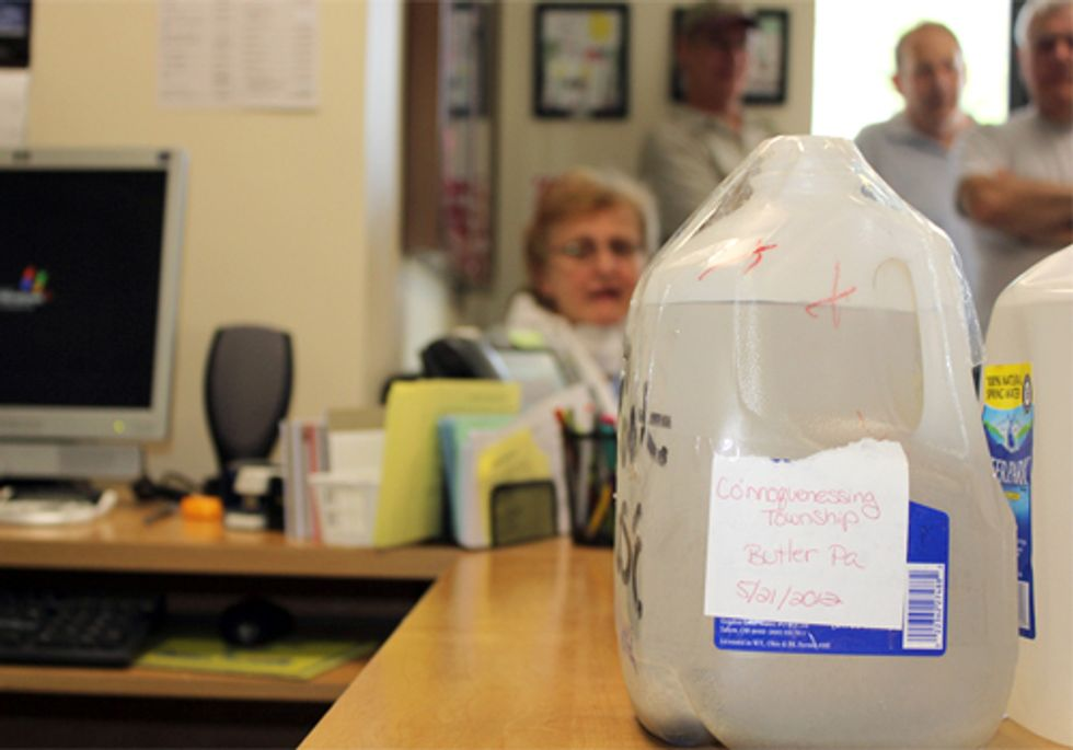 Protesters Occupy PA Rep. Ellis' Office, Take His Tap Water for Fracked Families