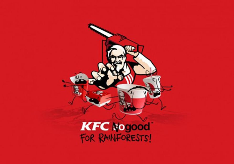 KFC's Secret Recipe for Rainforest Destruction