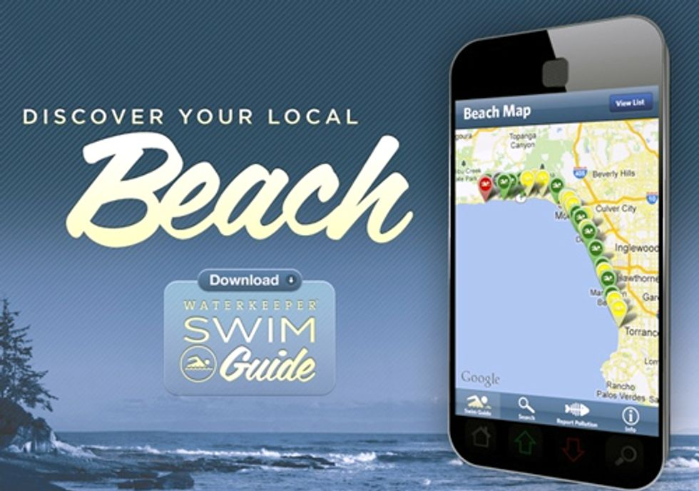 Waterkeeper Launches Swim Guide App