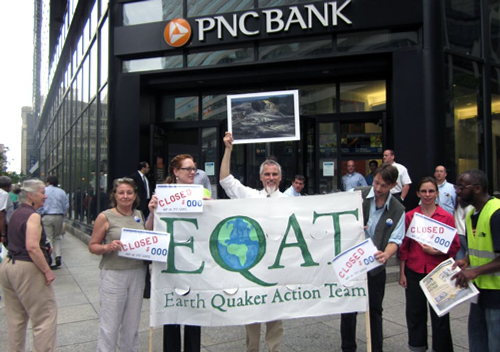 PNC Bank Loses Customers over Mountaintop Removal Coal Mining