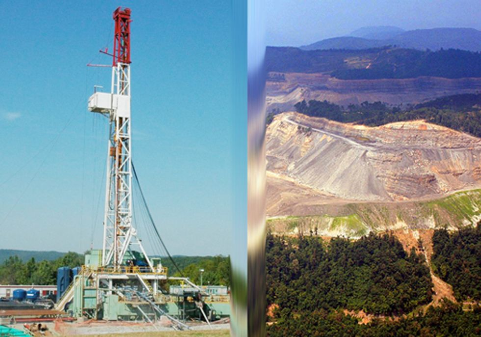 What Fracking and Mountaintop Removal Coal Mining have in Common