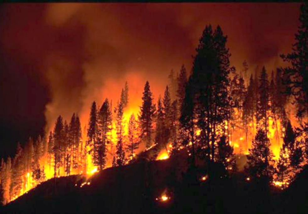 Megafires, Record Heat and Drought: How Climate Change is Affecting the Southwest