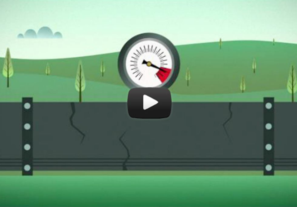 New Animated Video Shows Dangers of Tar Sands Oil