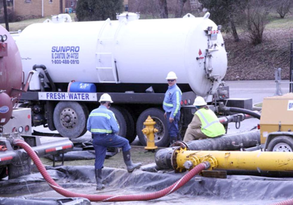 Water Sales to Fracking Industry Stopped in Southern Ohio