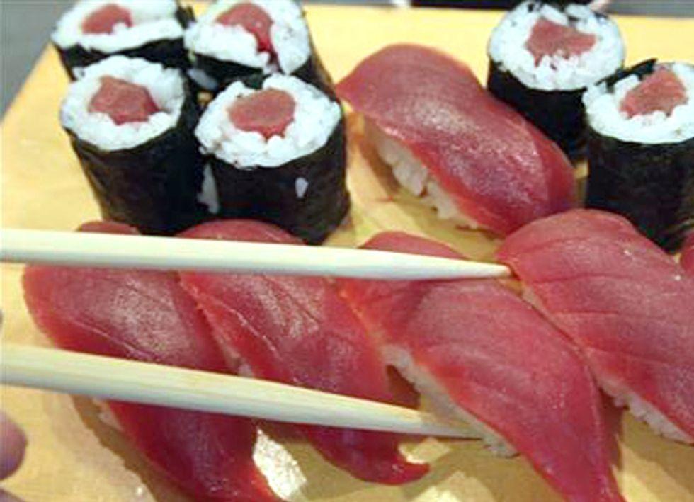 Hold that Hot Fukushima Sushi