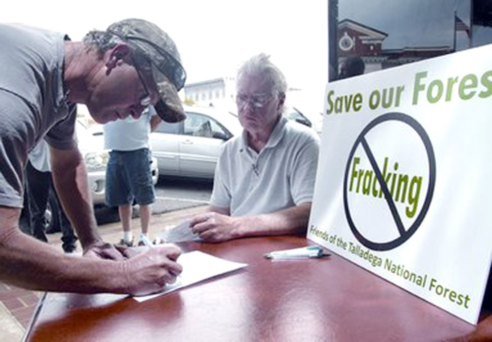 Public Opposition Helps Postpone Sale of Gas Drilling Leases in National Forest