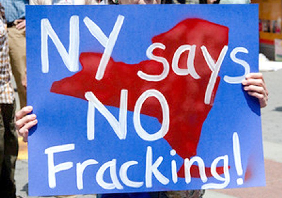Governor Cuomo: No Fracking Way!