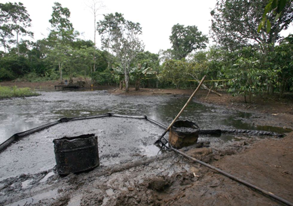 A Look Inside Chevron's Groundwater Contamination Spin in Ecuador