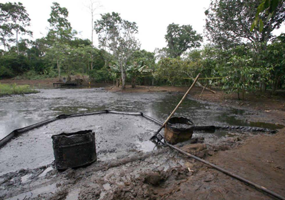 A Look Inside Chevron's Groundwater Contamination Spin in Ecuador