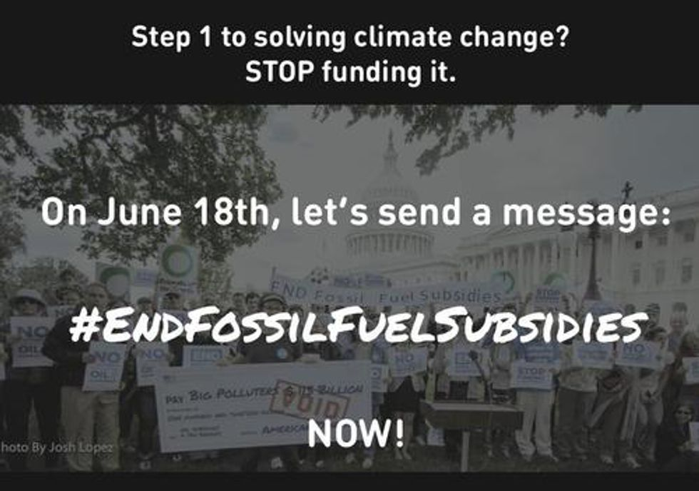 Join the Storm to End Fossil Fuel Subsidies