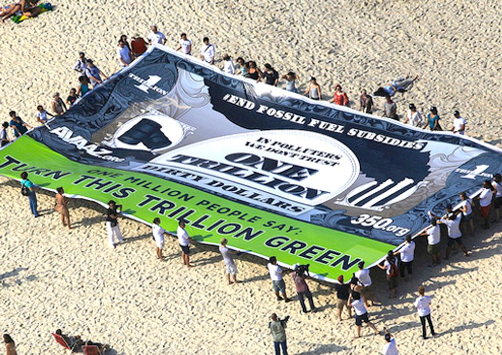 Global Twitterstorm to End Fossil Fuel Subsidies at Rio+20 Begins