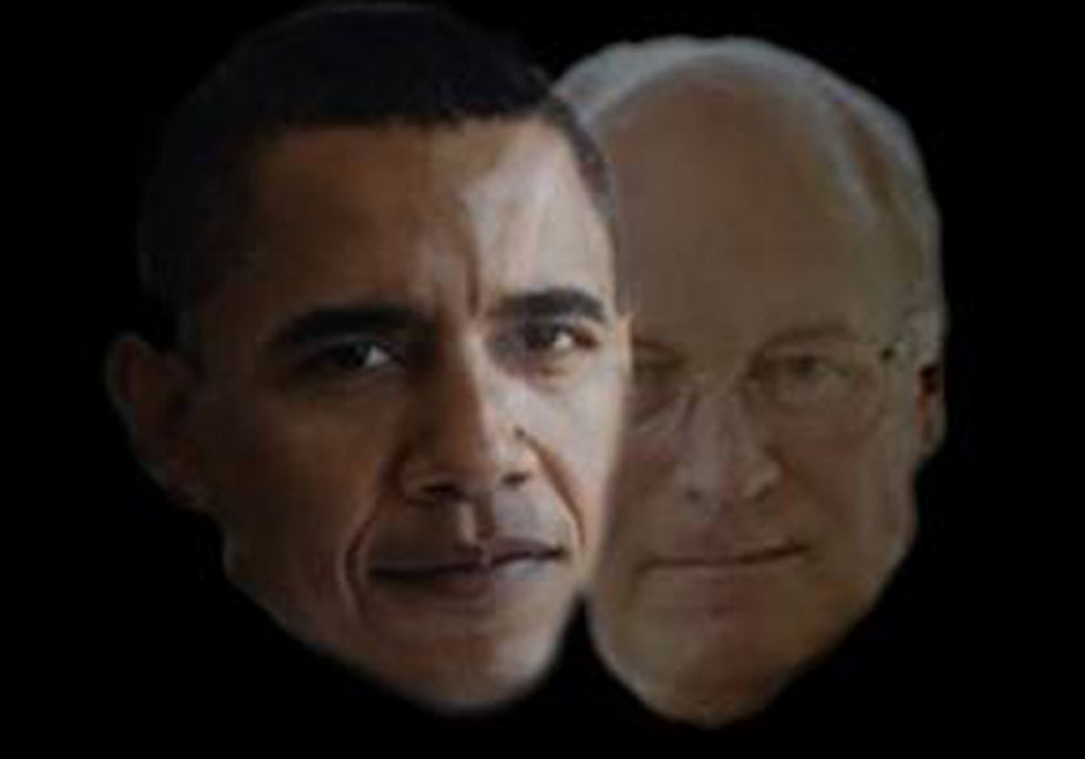 Is Barack Obama Morphing Into Dick Cheney?