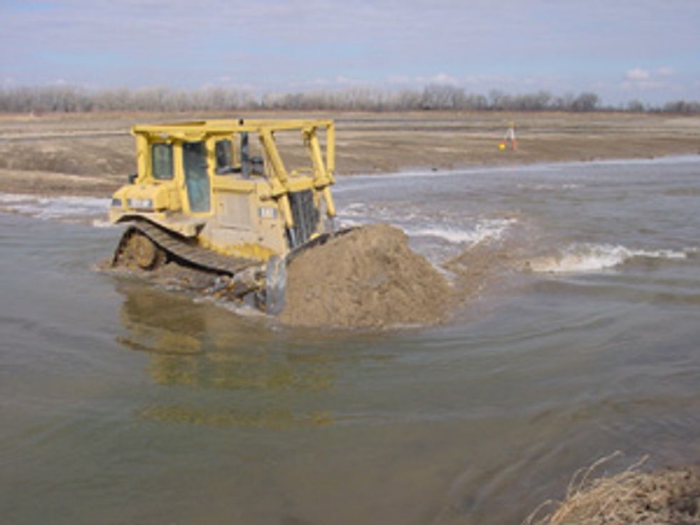 Lawsuit Targets New Mexico County's Illegal Bulldozing in San Francisco River