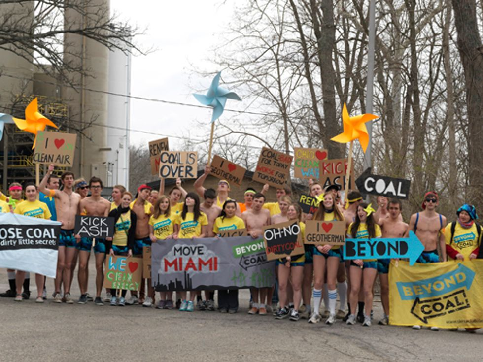 Students Take Action Nationwide to Move Campuses Beyond Coal