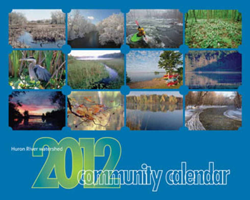 Be an H20 Hero—Pick up a Watershed Community Calendar