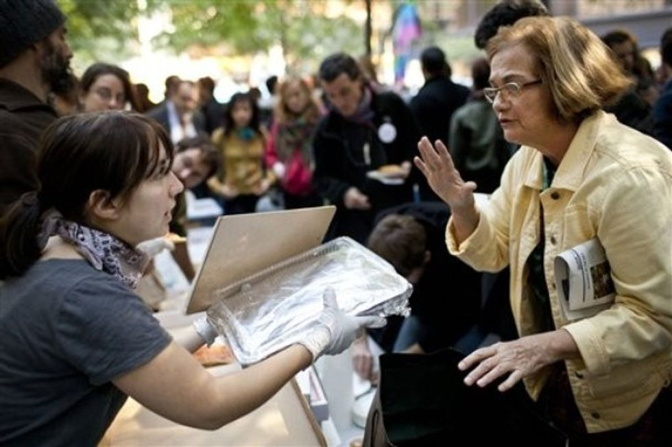 What Does Food Have to Do With Occupy Wall Street?