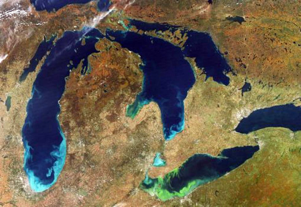 Lake Erie Algal Bloom Worsening By the Day