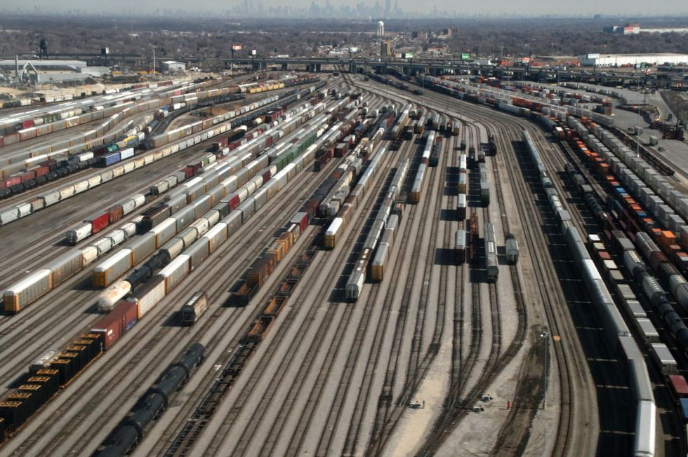 California Rail Yards Sued Over Diesel Pollution