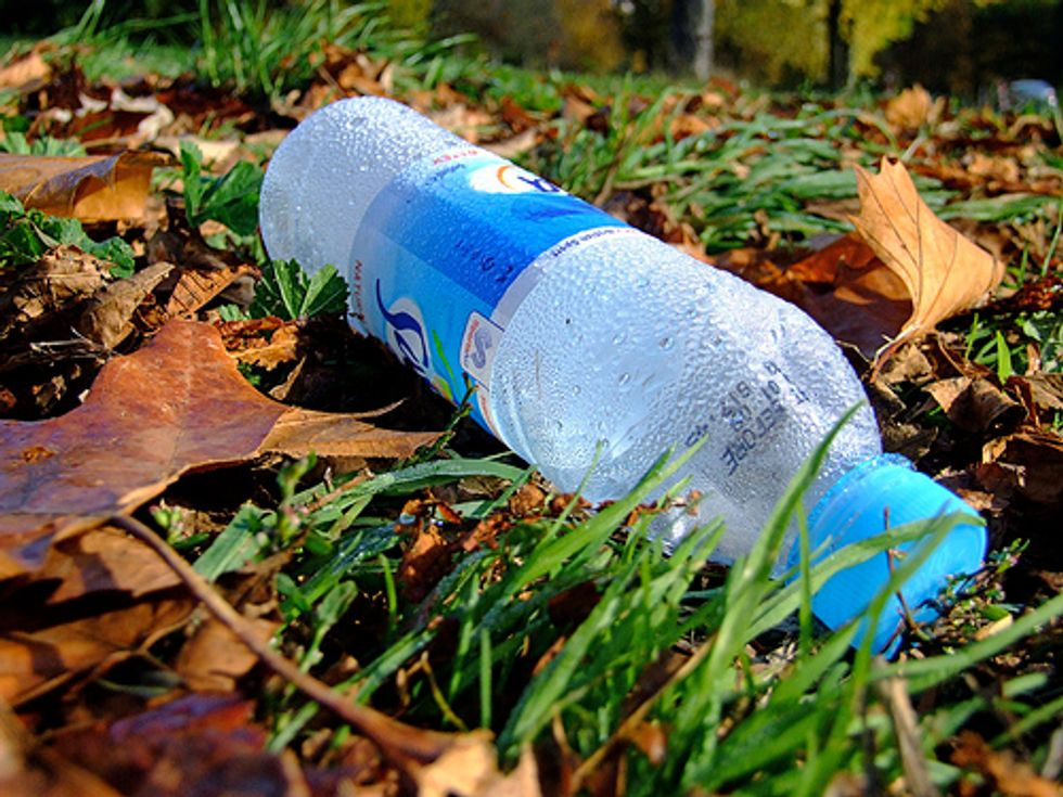 Bottled Water Companies Sued over Claims of Biodegradability