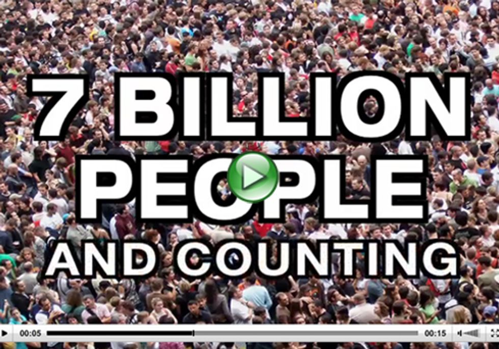 7 Billion People Crowding Out Imperiled Animals and Plants