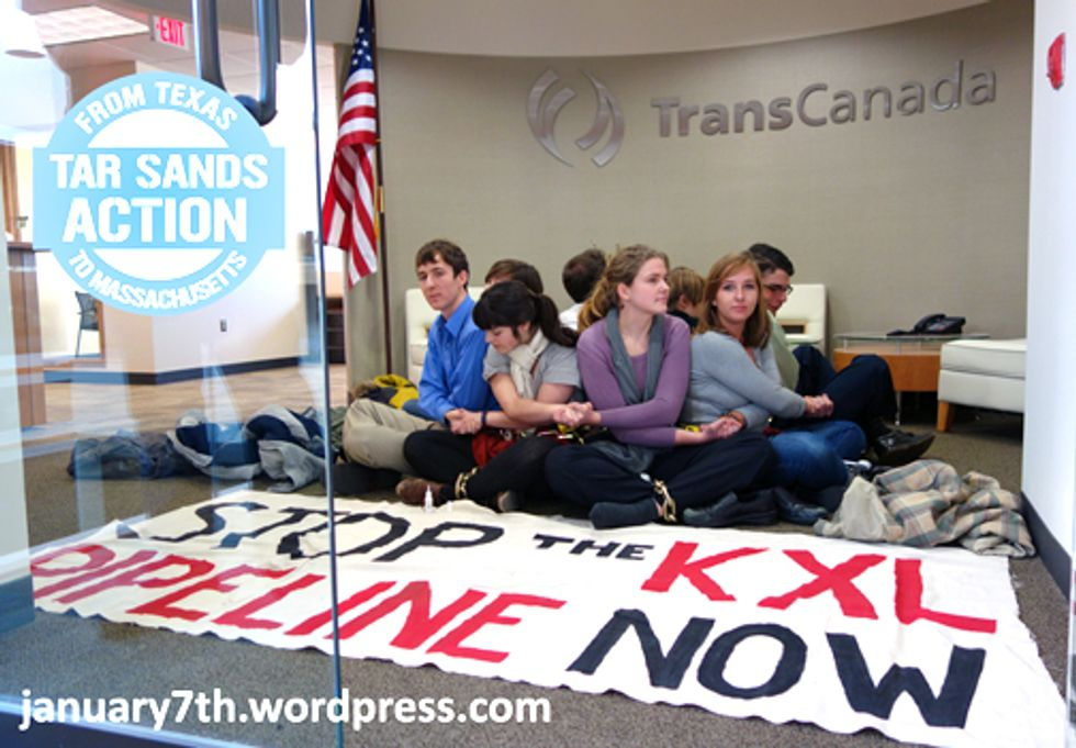 Protests Ignite Nationwide Targeting TransCanada's Keystone XL