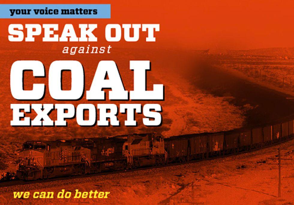 STOP COAL EXPORTS: Join Solidarity Actions