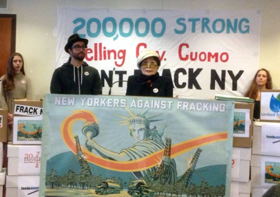New Yorkers Deliver Unprecedented 200K+ Comments on Cuomo's Fracking Rules
