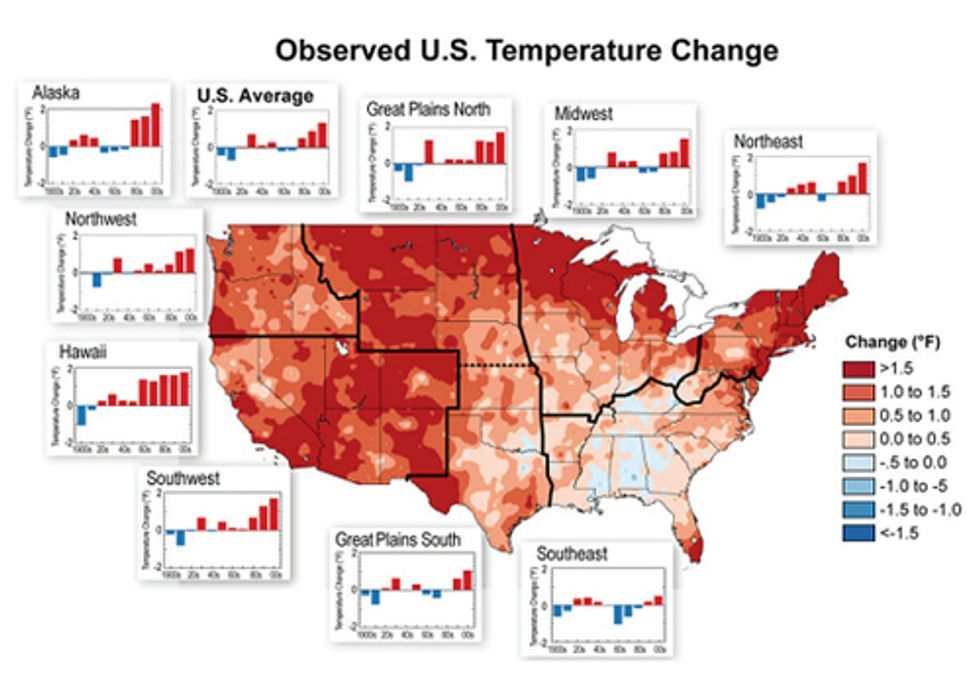 Federal Scientists Detail Stronger Evidence of Global Warming in National Climate Assessment