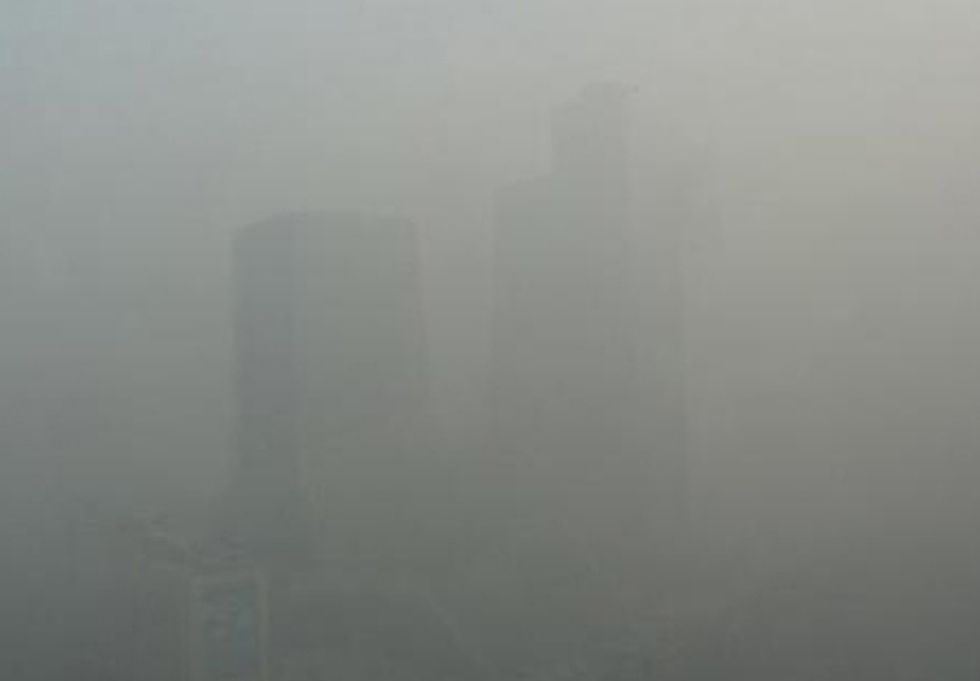Record Air Pollution Levels Hit Beijing