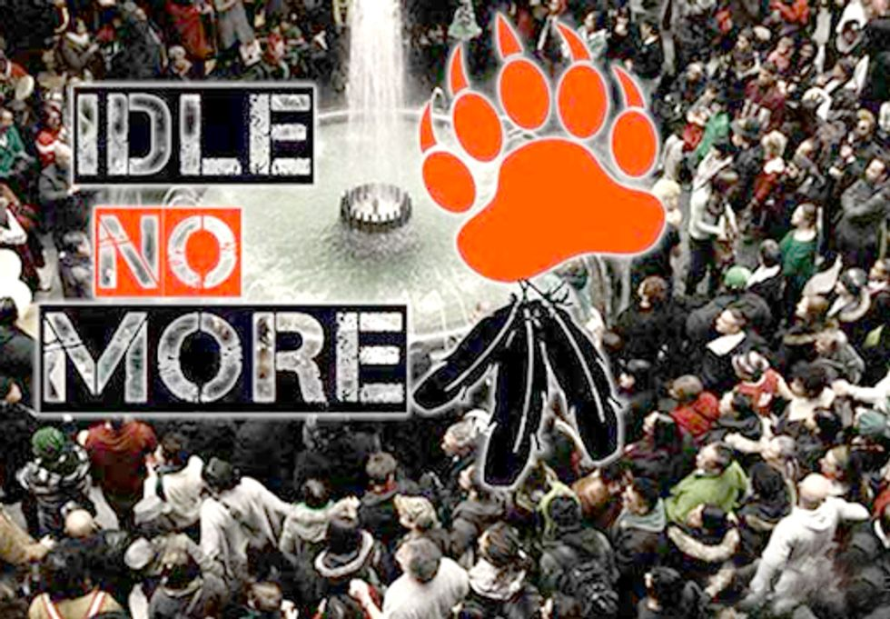 Idle No More—Think Occupy, But With Deep Deep Roots