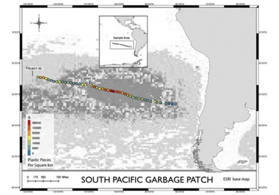 New Garbage Patch Discovered in the South Pacific Gyre
