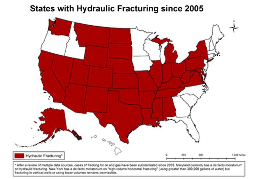 Do You Live in One of the 32 States that Has Been Fracked?
