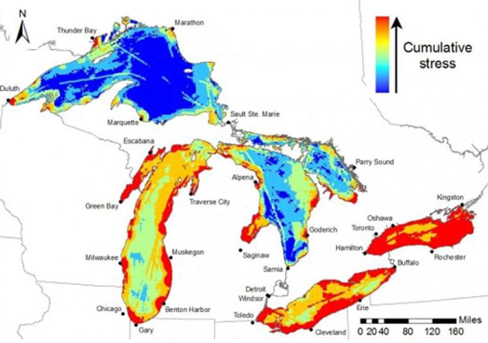 How Climate Change is Damaging the Great Lakes