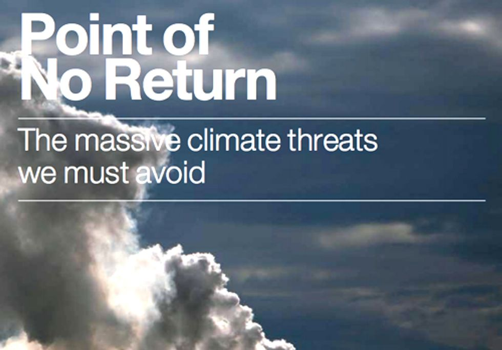Point of No Return: Renewables or Fossil Fuels?