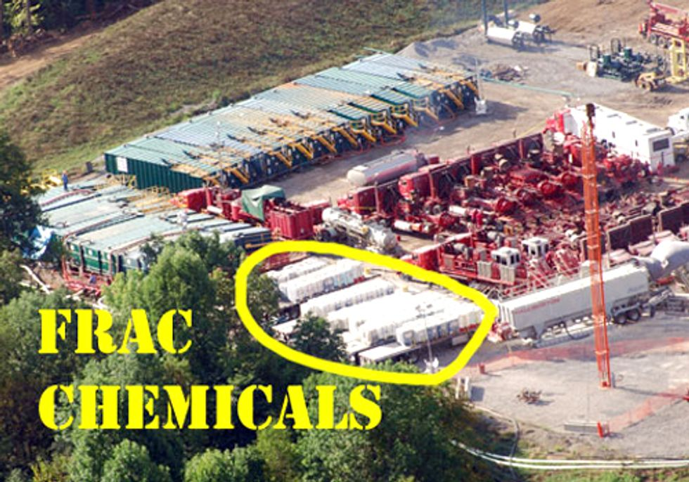 Groups Demand Fracking Chemical Info