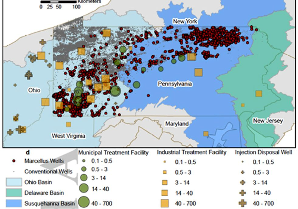 Pennsylvania Fracking Wastewater Likely to Overwhelm Ohio Injection Wells