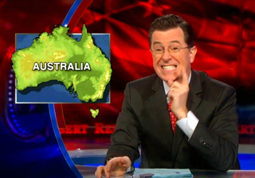 Stephen Colbert Slams Mainstream Media for Lack of Climate Coverage