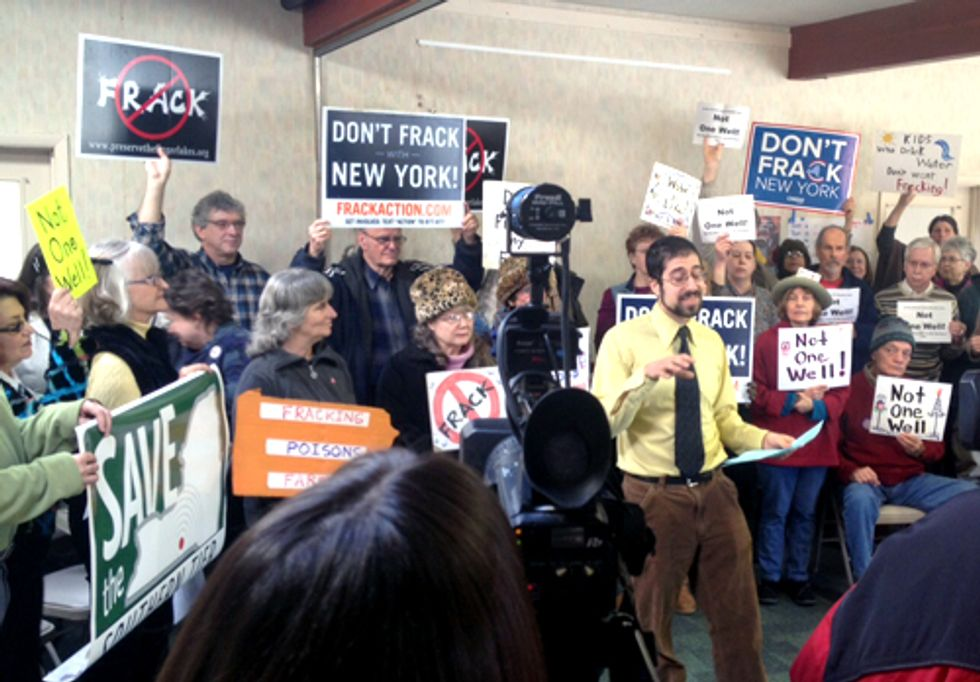 Southern Tier Residents: Don't Frack Our Health!