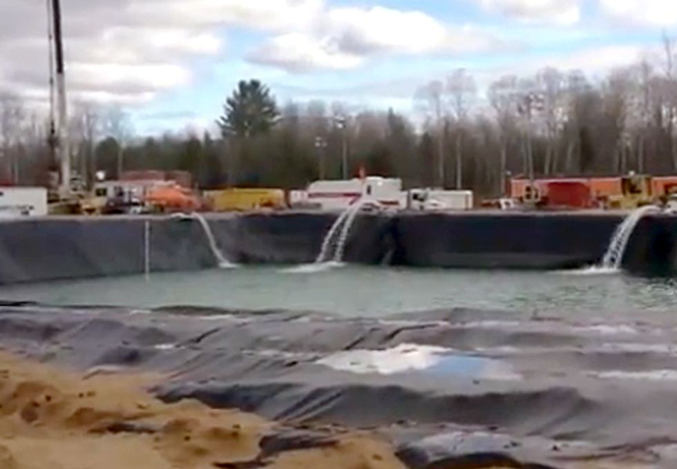 Michigan's 21 Million Gallon Frack Job: A National Record?